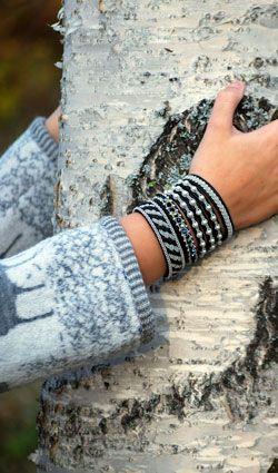 Pewter bracelets from Swedish