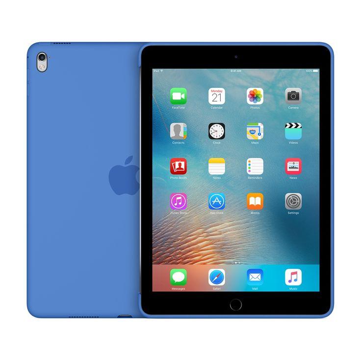 La Coque en silicone pour iPadPro protège l'arrière de votre appareil et s'associe parfaitement à la SmartCover.  79€