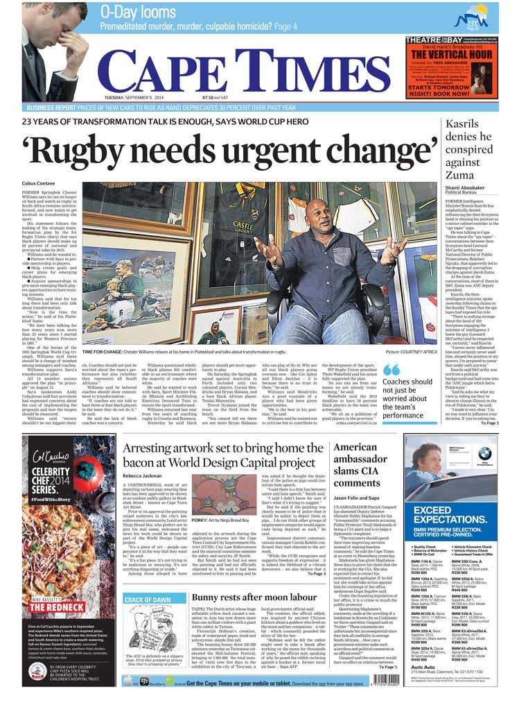 News making headlines: Rugby needs urgent change