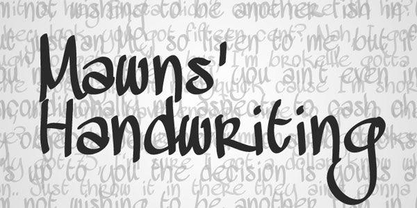10 Originales y gratuitas fuentes tipográficas manuscritas (Handwriting) | TodoGraphicDesign