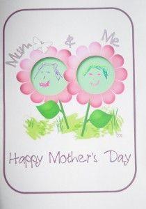 Mum & Me Card or Nana and Me.... or Granny and Me.