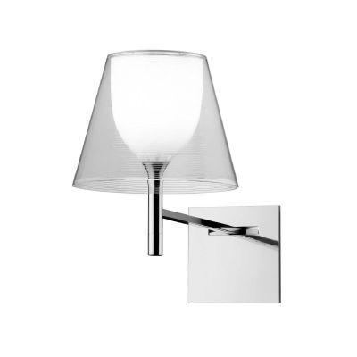 KTribe W est une applique crée par Philippe Starck. Pour la version « argent » et « bronze », un jeu de lumière très intéressant se crée : lorsque la lumière est éteinte, vous appréciez le design pur et élégant de l'applique. Retrouvez ce produit sur Voltex.fr.