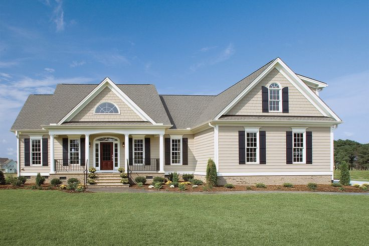 Country Style House Plan - 3 Beds 2.5 Baths 1882 Sq/Ft Plan #929-11 Exterior - Front Elevation - Houseplans.com