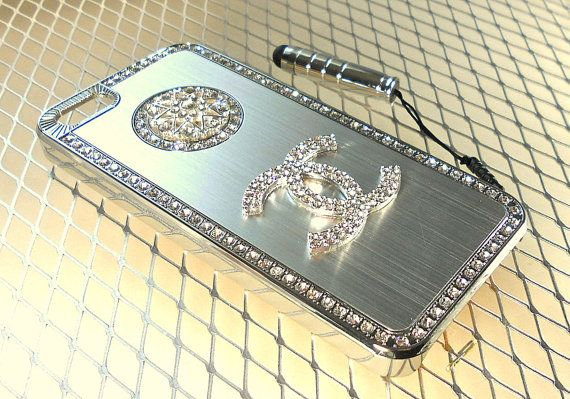 Latest Chanel Iphone 5 Case  luxury crystal by CRYSTALandBLING, $26.99