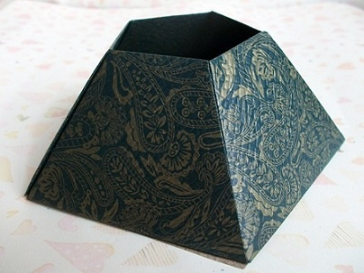 Origami Vase  - Pentagon Pencil Holder