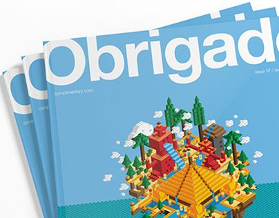 """Check out this @Behance project: """"Obrigado Magazine Cover"""" https://www.behance.net/gallery/22719481/Obrigado-Magazine-Cover"""