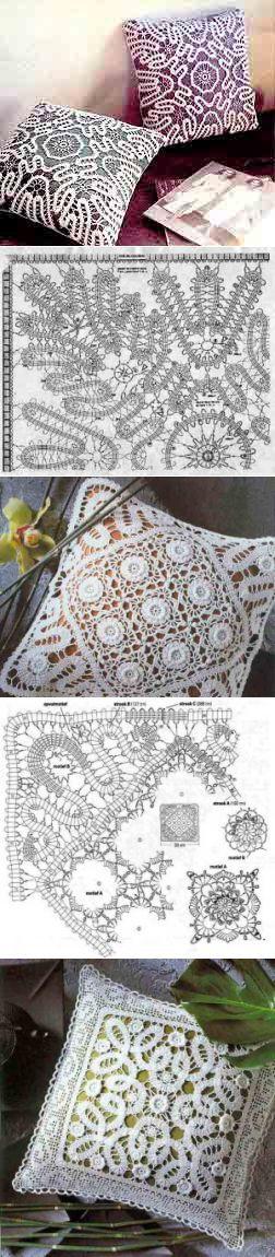 Брюггское кружево, подушки | Вязание крючком | Постила