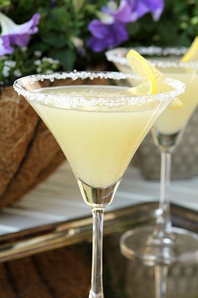 The Best Lemon Drop Martini…has Vanilla Bean!
