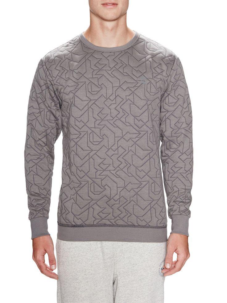 G-Star Quilted Sweatshirt