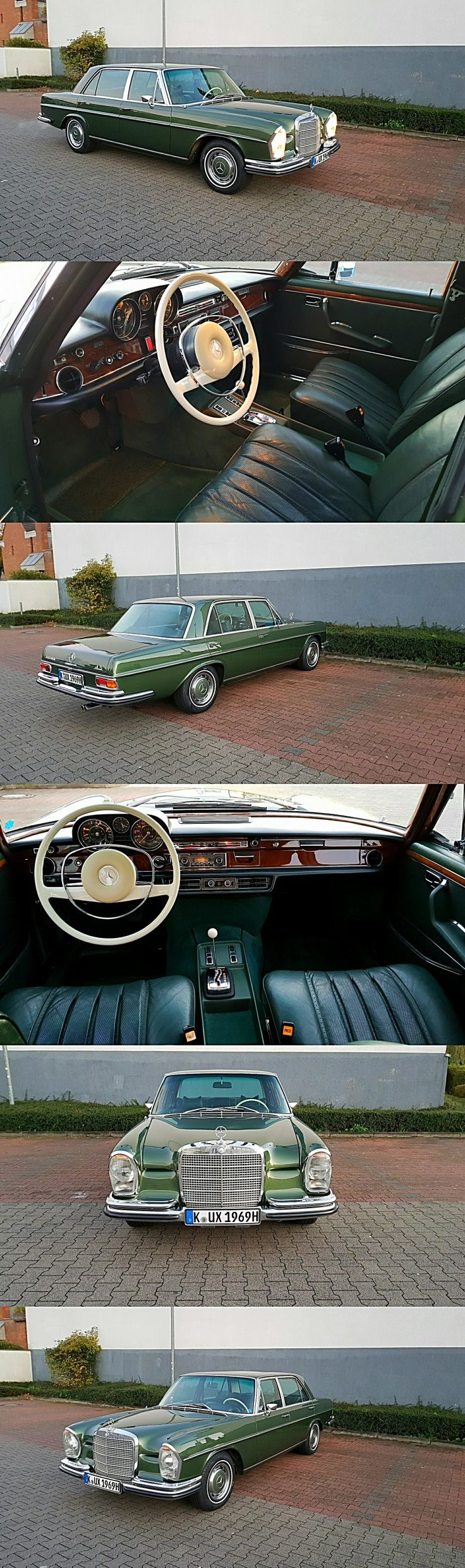 1970 Mercedes Benz 300 SEL 4.5 V8 Saloon