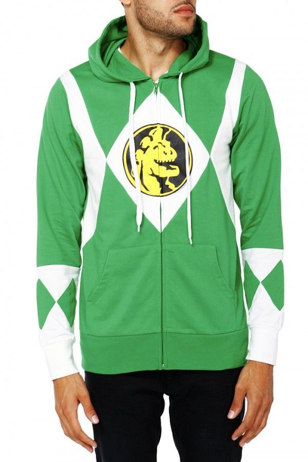 Power Rangers Hoodies - I really want a pink ranger one!!