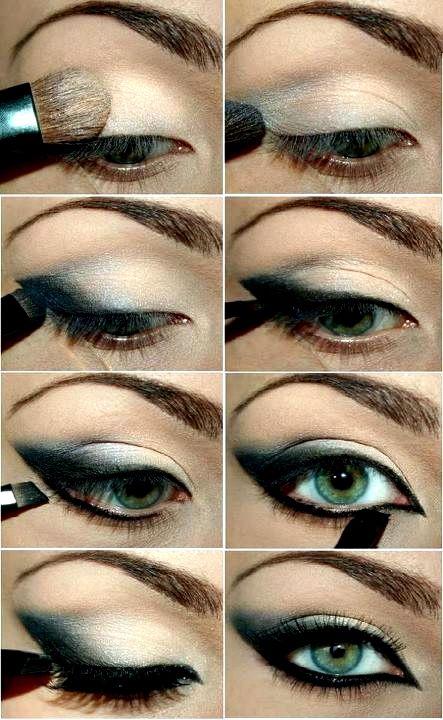 Makeup Tutorials, Eye Makeup, Cat Eye, Eye Shadows, Dramatic Eye, Makeup Eye, Eyeshadows, Eyemakeup, Green Eye