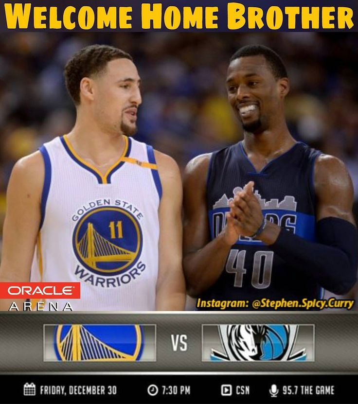 Harrison Barnes and Andrew Bogut come back to Oracle tonight to close out the year with some Mavs vs. Dubs family fun! It's Authentic Fan Friday and everybody at the Roaracle gets an official Warriors cheer card to help support our Dubs! Game time's 7:30PM Pacific Time and you can watch on CSN Bay Area and listen on 95.7 The Game.