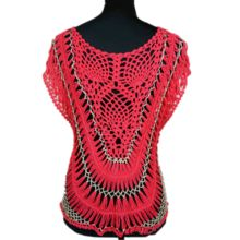 Metallic Yarn Women Handmade Crochet Clothes  Best Buy follow this link http://shopingayo.space