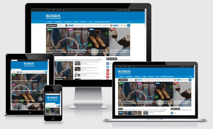 http://waytemplates.blogspot.com/2016/09/blogius-responsive-news-magazine-blogger-template.html Blogius is a clean and elegant blogger Template which offers you great customization to create the blog that you want. This blogger template is suitable for wide-range of blog such as personal blog, fashion, photography, travel etc. This Theme is built by latest design trend and using advanced development tools. This Template is responsive theme optimized and displayed perfectly on any devices.