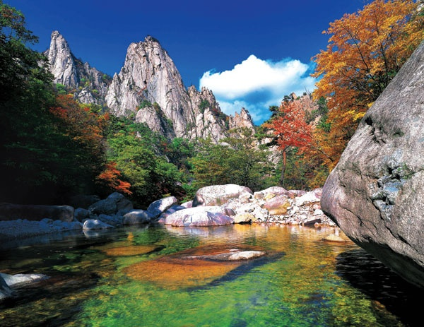 Seoraksan in Autumn, Sokcho, Korea