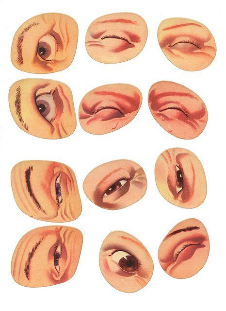 blanc les yeux 1 by pilllpat (agence eureka), via Flickr