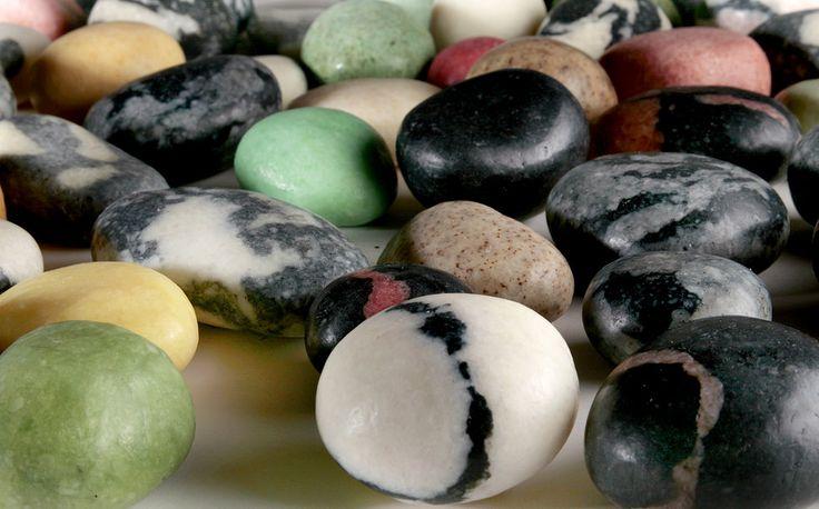 Savon de Terre Stone Soaps Each one is a unique work of art.