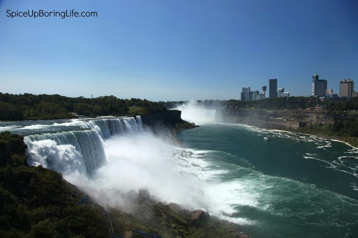 Do you know which natural wonder divides USA from Canada? Get to know.  http://www.spiceupboringlife.com/2013/10/niagara-falls-travel-diary.html