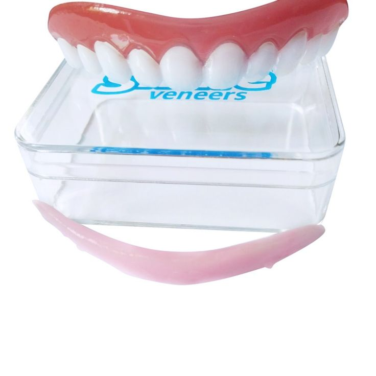2017 Natural High Quality Silicone Simulation On The Row Of False Denture