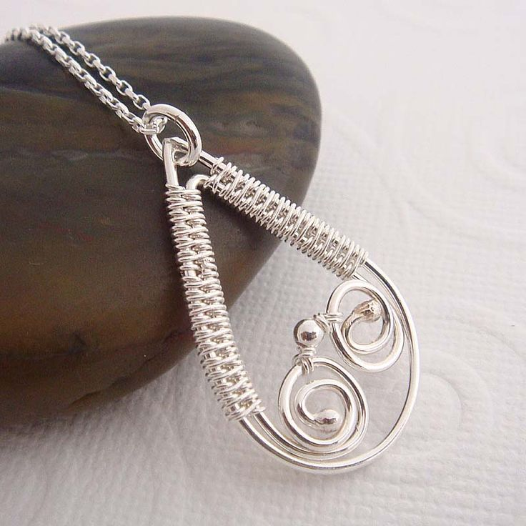 Belleville wire wrapped necklace