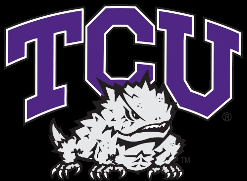 TCU Horned Frogs Football Team logo - Texas Christian University