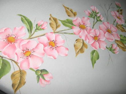 Cortinas pintadas en tela imagui - Como pintar telas a mano ...