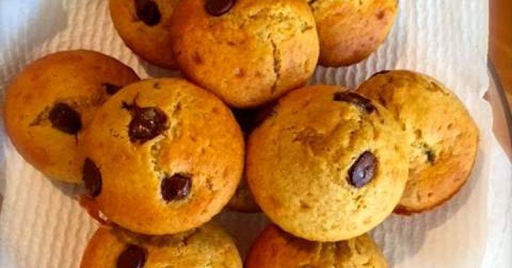 Sour Cream & Choc Chip Muffins
