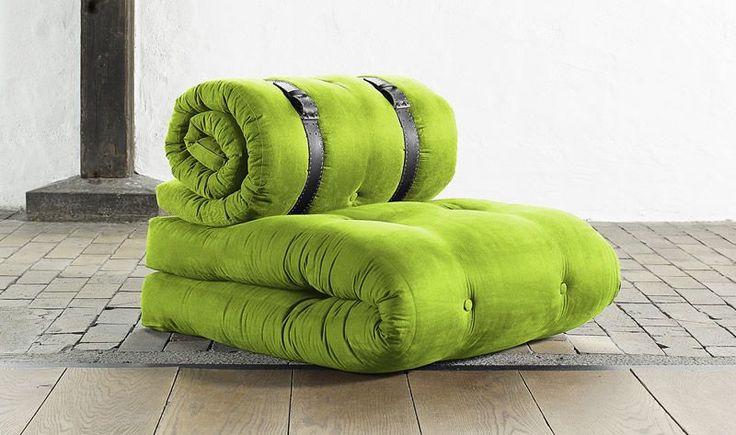 Buckle Up Cintura Nera http://www.design-miss.com/buckle-up-cintura-nera/ Buckle Up è una #poltrona che si trasforma in un comodo e pratico #letto, composta da 2 #materassi #futon legati da cinture di #colore nero. Buckle Up appartiene …