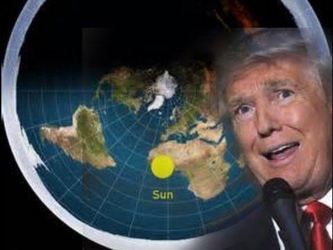 LivePrepare se -  Donald Tramp afirma que a Terra é Plana