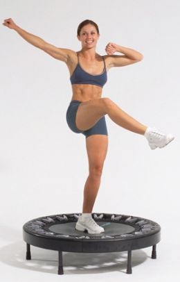 This blog talks about workouts on Backyard and personal fitness trampolines and has very sound advice!