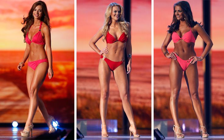 Miss America 2016 - Ένα «μπουκέτο» κορίτσια με μπικίνι - http://www.daily-news.gr/lifestyle/miss-america-2016-ena-mpouketo-koritsia-me-bikini/