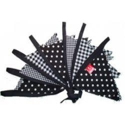 #Vlaggenlijn #slinger #feest #polkadot #dots #stippen
