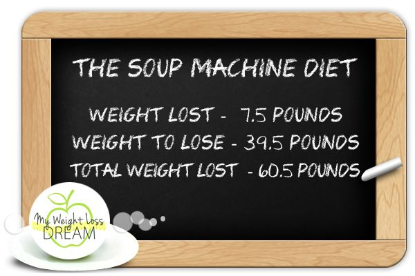 the soup machine diet tried and tested!