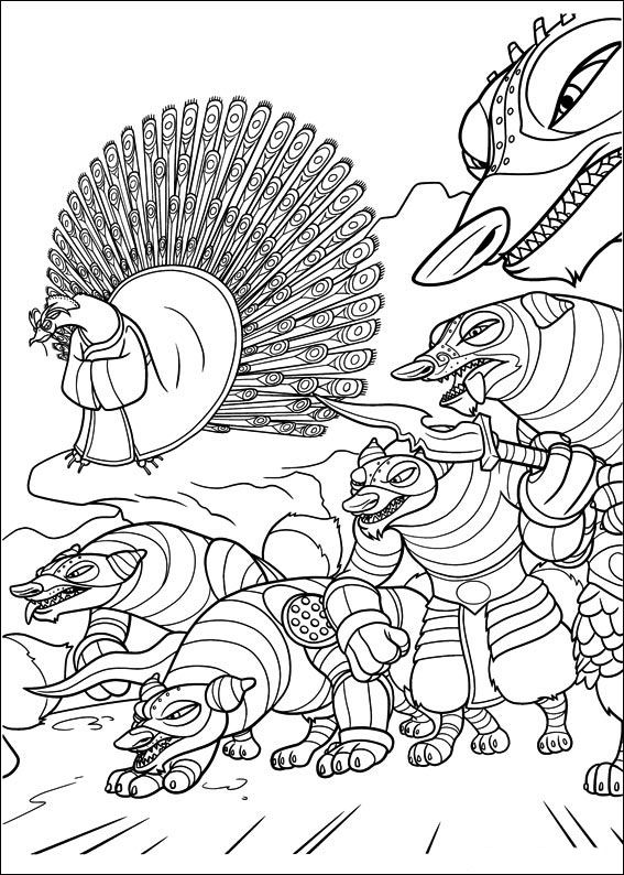 Kung Fu Panda 24 Dibujos Faciles Para Dibujar Para Ninos Colorear Panda Coloring Pages Kung Fu Panda Coloring Pages