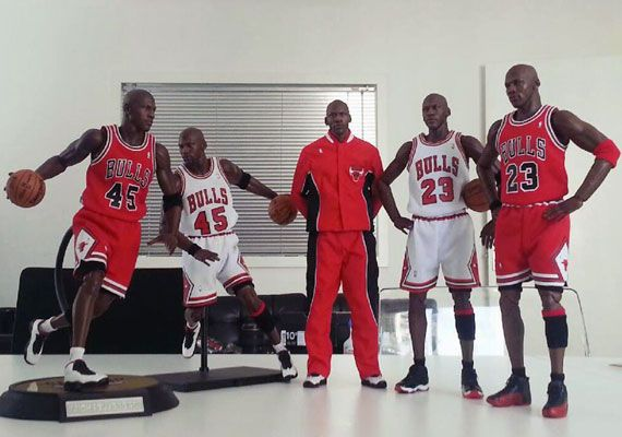 Michael Jordan Masterpiece Figures by Enterbay... Not dolls, they're action figures