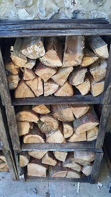 VINTAGE WOODEN APPLE FRUIT CRATES X 6 Log Store | Timber Store | Wood Burner **