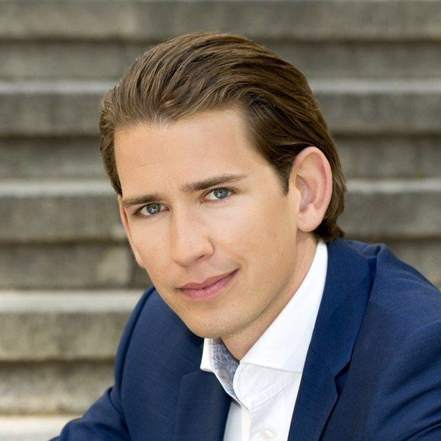 This is Sebastian Kurz. He's 27 years old. And he's currently Austria's foreign minister.