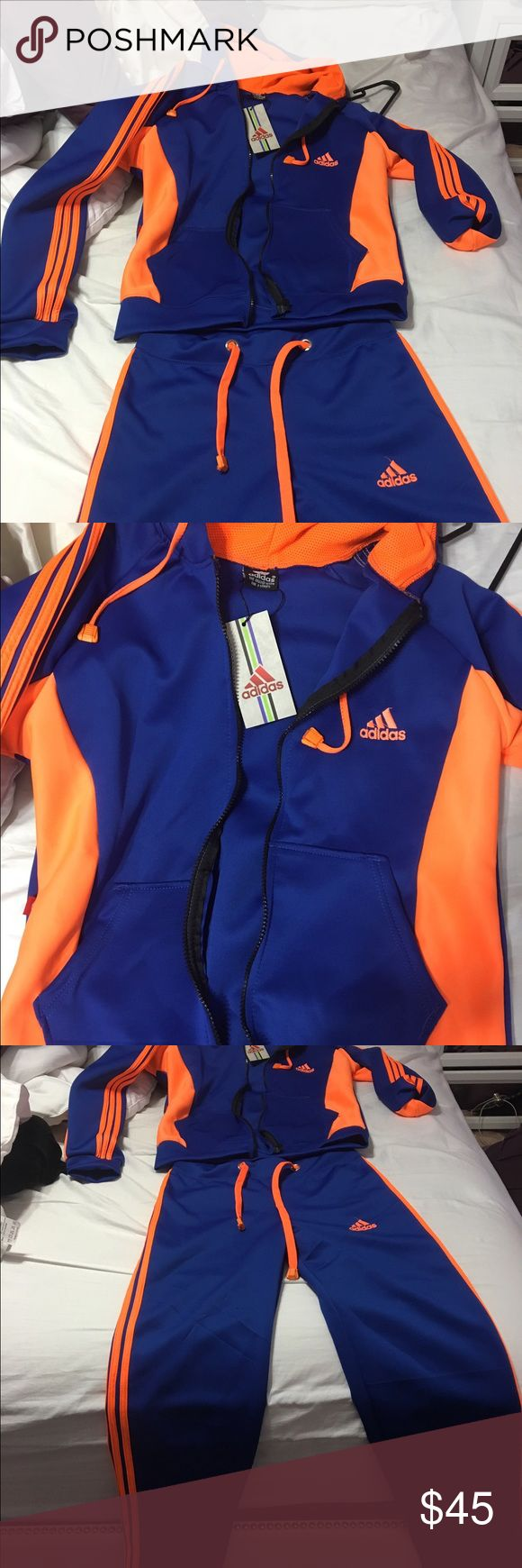 Brand new adidas tracksuit for women Never worn brand new with tags adidas tracksuit Adidas Pants Track Pants & Joggers