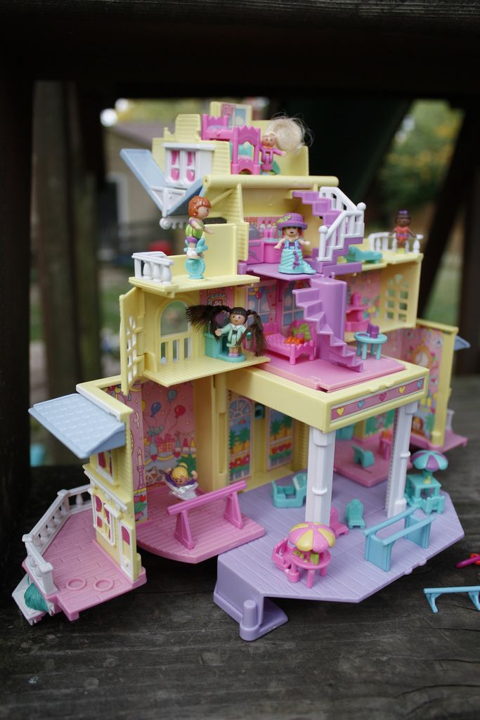 Polly Pocket House: another obsession