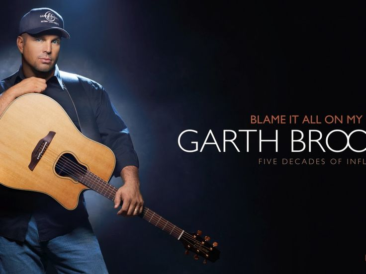 all garth brooks album covers | Blame It On All My Roots Garth Brooks