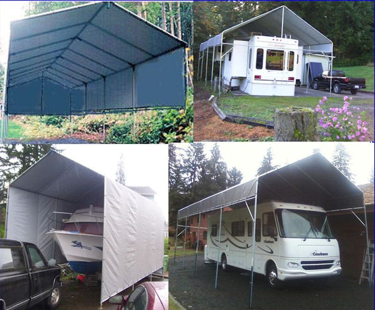 Carport On Wheels : Images about how to build a portable carport ebook