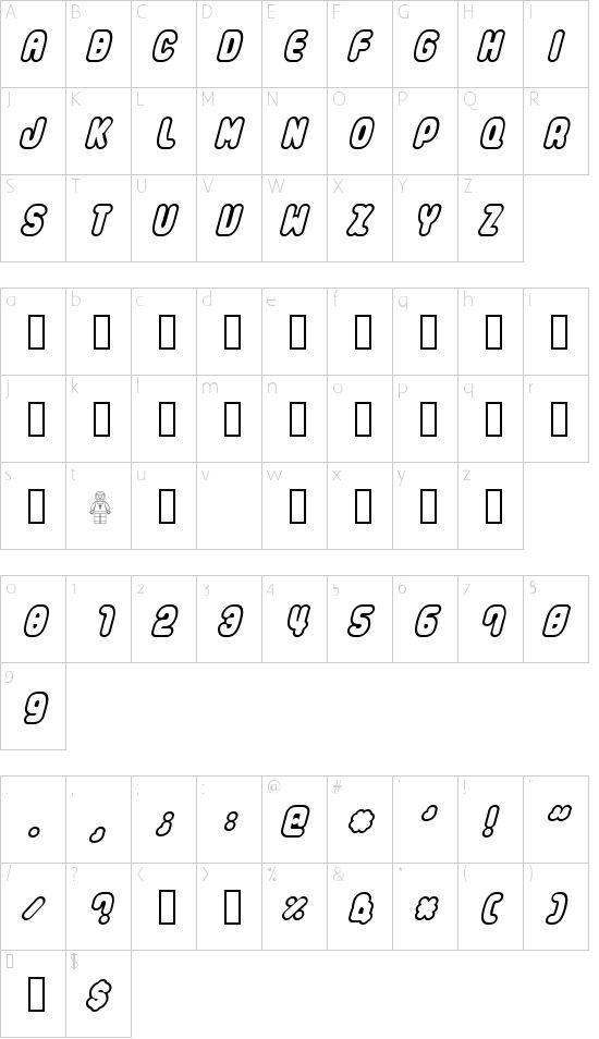 LEGO Font - Download Free Fonts