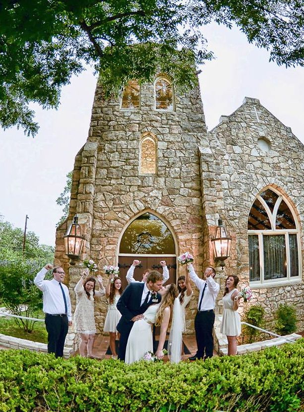 Wedding Venue Fredericksburg TX 100 Year Old Chapel Tax Hill Country