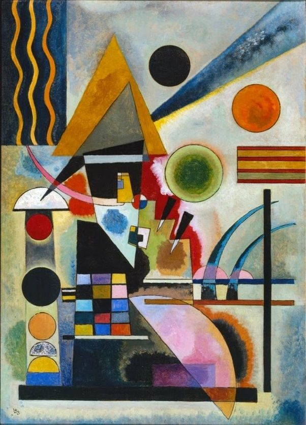 Swinging by Wassily Kandinsky                                                                                                                                                                                 Más