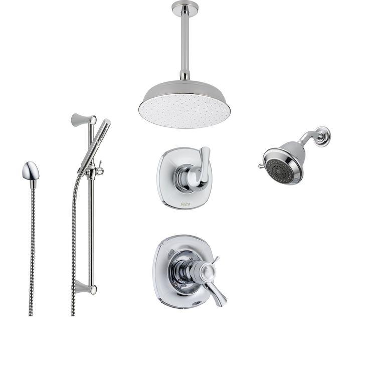 Best 25 condo bathroom ideas only on pinterest basement bathroom ideas small bathroom and for Delta bathroom shower systems
