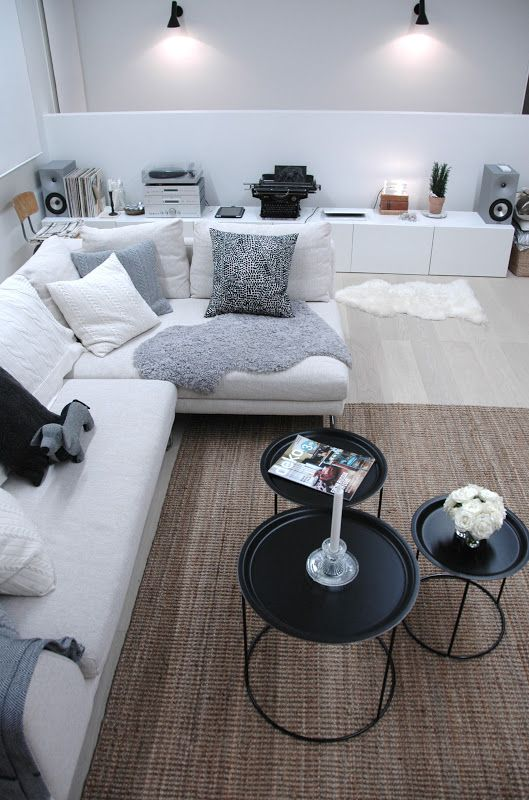 Ikea...nice but I toss out the black and white pieces