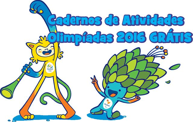 40 atividades sobre as Olimpíadas do rio 2016 para baixar Grátis