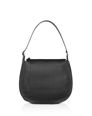 ALLSAINTS . #allsaints #bags #shoulder bags #leather #hobo #
