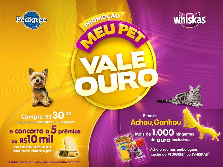 MARS - Promoções Pedigree/Whiskas on Behance